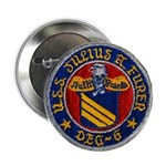 """USS JULIUS A. FURER 2.25"""" Button"""