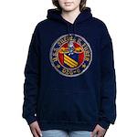 USS JULIUS A. FURER Women's Hooded Sweatshirt