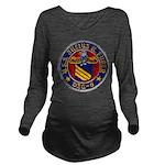 USS JULIUS A. FURER Long Sleeve Maternity T-Shirt