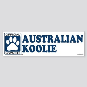 AUSTRALIAN KOOLIE Bumper Sticker