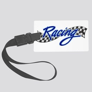 Racing Large Luggage Tag