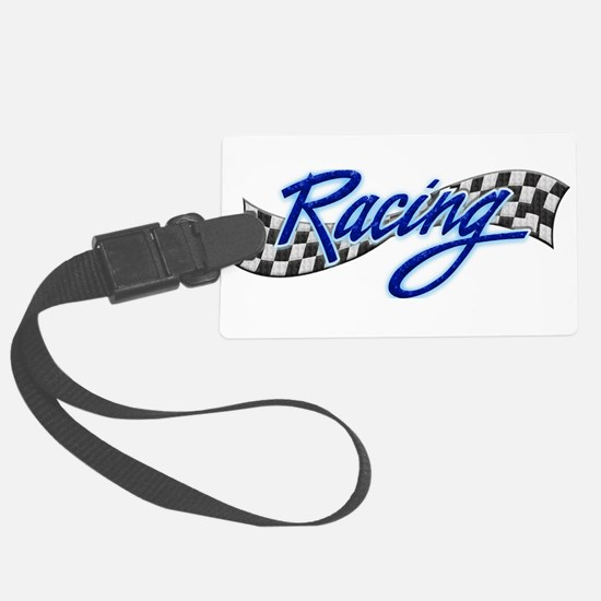 Racing Luggage Tag