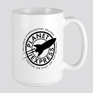 Planet Express Logo Large Mug