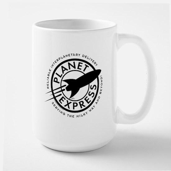 Planet Express Logo Large Mug