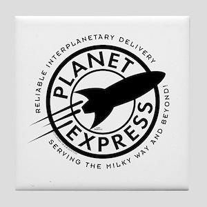 Planet Express Logo Tile Coaster