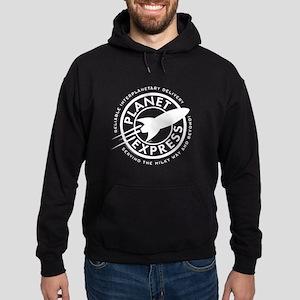 Planet Express Logo Hoodie (dark)