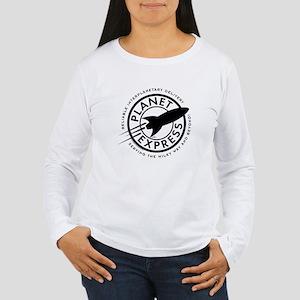 Planet Express Logo Women's Long Sleeve T-Shirt