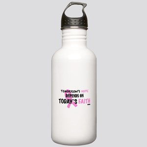 Tomorrows Hope Breast Stainless Water Bottle 1.0L