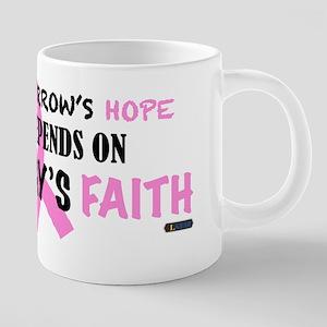 Tomorrows Hope Breast Cancer Mugs