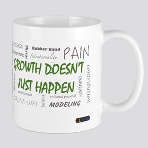 Growth Doesnt Just Happen Mugs