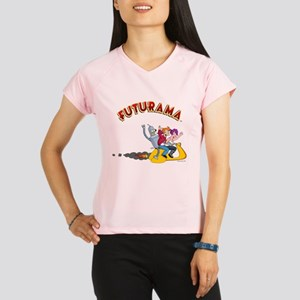 Futurama Hover Scooter Performance Dry T-Shirt