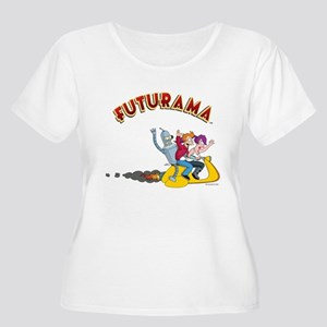 Futurama Hove Women's Plus Size Scoop Neck T-Shirt