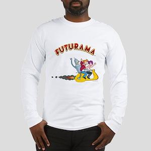 Futurama Hover Scooter Long Sleeve T-Shirt