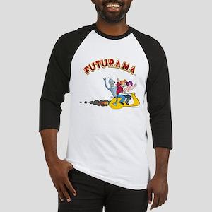 Futurama Hover Scooter Baseball Jersey