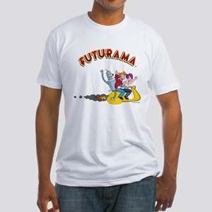 Futurama Hover Scooter Fitted T-Shirt