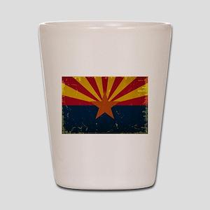 Arizona State Flag VINTAGE Shot Glass