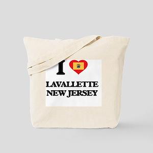 I love Lavallette New Jersey Tote Bag