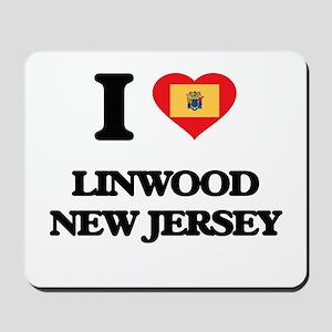 I love Linwood New Jersey Mousepad