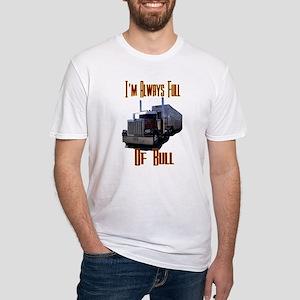 I'm Always Full of Bull Fitted T-Shirt