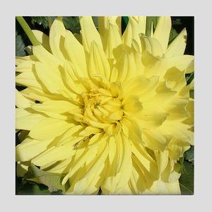 Flower 4 Tile Coaster