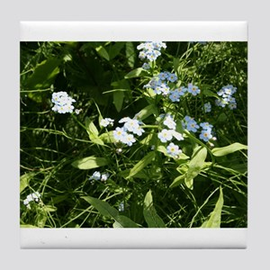 Flower 5 Tile Coaster