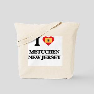 I love Metuchen New Jersey Tote Bag