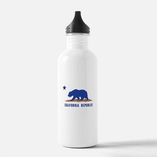 California Republic-01 Water Bottle
