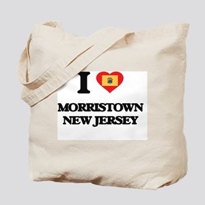 I love Morristown New Jersey Tote Bag