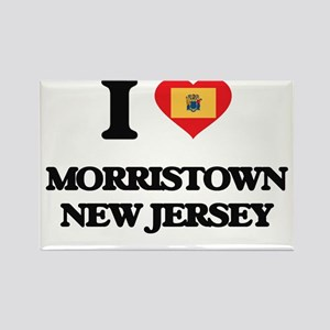 I love Morristown New Jersey Magnets