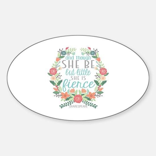 Shakespeare Sticker (Oval)