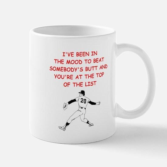 strat baseball Mugs