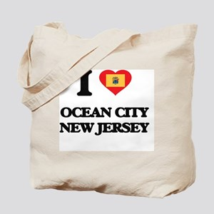 I love Ocean City New Jersey Tote Bag