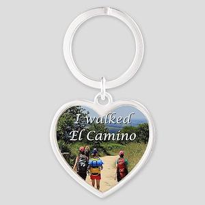 I walked El Camino, Spain Heart Keychain