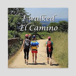 I walked El Camino, Spain Queen Duvet