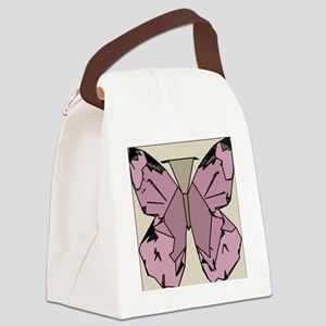 Invisible but Present Art Deco Bu Canvas Lunch Bag