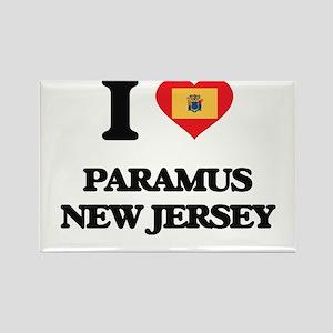 I love Paramus New Jersey Magnets