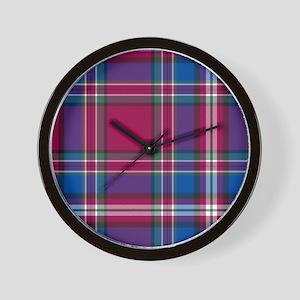 Tartan - MacFarlane Wall Clock
