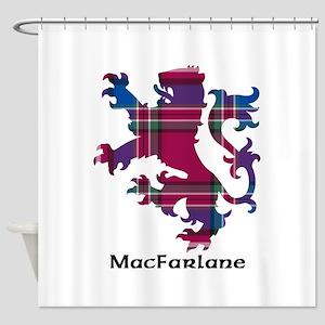 Lion - MacFarlane Shower Curtain
