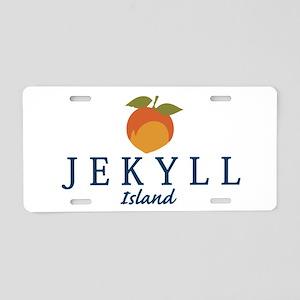 Jekyll Island - Georgia. Aluminum License Plate
