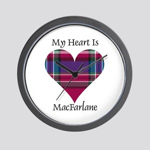 Heart - MacFarlane Wall Clock