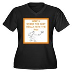 tennis joke Plus Size T-Shirt