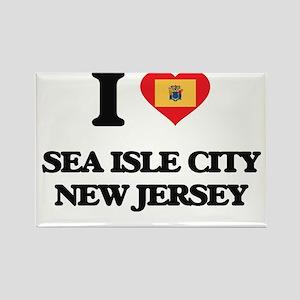I love Sea Isle City New Jersey Magnets