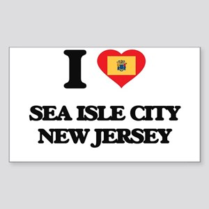 I love Sea Isle City New Jersey Sticker