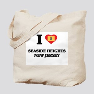 I love Seaside Heights New Jersey Tote Bag