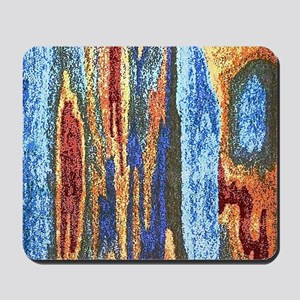 Abstract Dotted Image Mousepad
