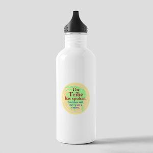The Black Jack Injuns Water Bottle