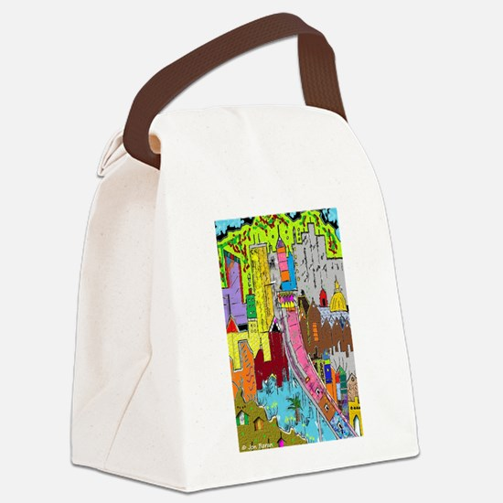 Vision Medellin Colombia Canvas Lunch Bag