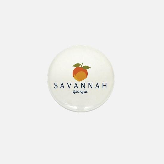 Sanannah - Georgia. Mini Button