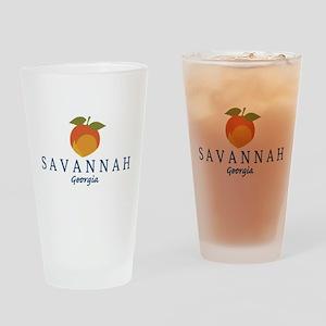 Sanannah - Georgia. Drinking Glass