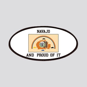 Navajo And Proud Patch